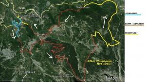 Άθλος Τζουμέρκων   MTB 17km